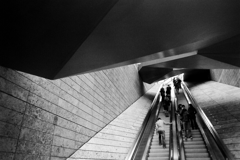 Liverpool ONE Escalator/Stairs by AWilsonPhoto