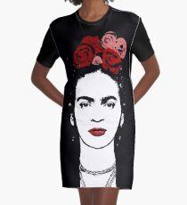 Vestido camiseta Frida Kahlo