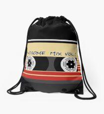 Awesome Mixtape Vol 1, Tape, Music, Retro Drawstring Bag