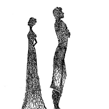 Silhouette Man And Women by heartroyal