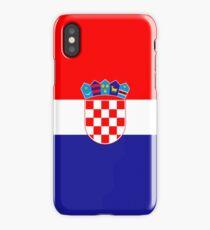 Croatia flag designs iPhone Case/Skin
