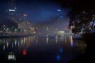 Melbourne after dark by AlMiller