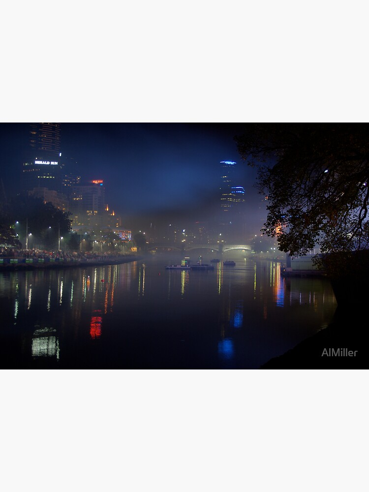 Melbourne after dark by AlMiller