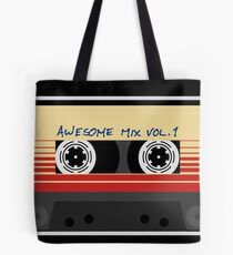 Bolsa de tela Awesome Mixtape Vol 1, Cinta, Música, Retro