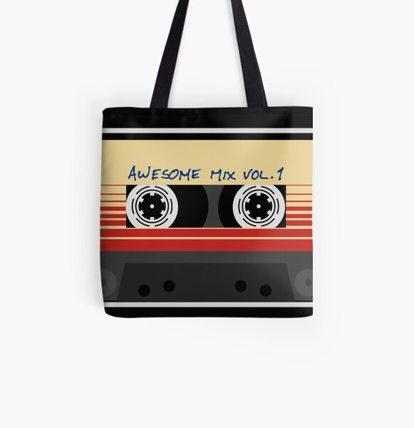 Awesome Mixtape Vol 1, Tape, Music, Retro All Over Print Tote Bag