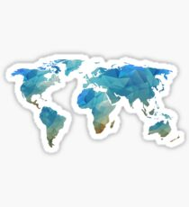 Continents  Sticker