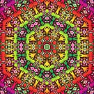 BBQSHOES: Digital Psychedelia ZP1524 by bbqshoes