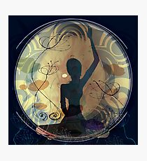 Yoga meditation - holistic - asana Photographic Print