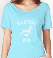 The ORIGINAL Waupaca Wis. Stranger Things Shirt! - Dustin's shirt Women's Relaxed Fit T-Shirt