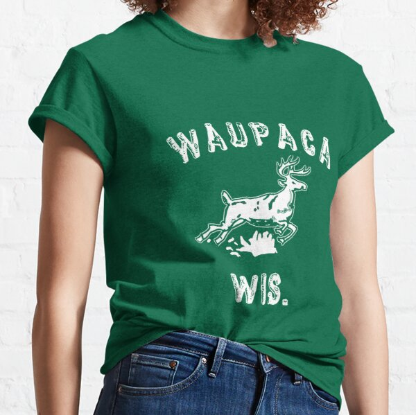 The ORIGINAL Waupaca Wis. Stranger Things Shirt! - Dustin's shirt Classic T-Shirt