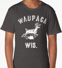 The ORIGINAL Waupaca Wis. Stranger Things Shirt! - Dustin's shirt Long T-Shirt