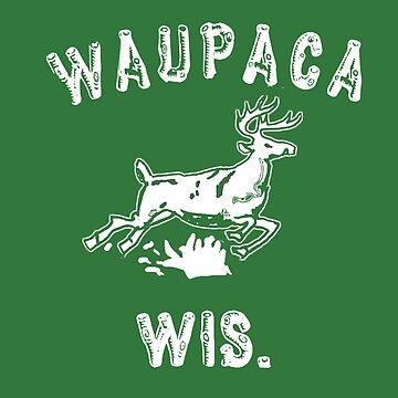 The ORIGINAL Waupaca Wis. Stranger Things Shirt! - Dustin's shirt by powerdinoninja