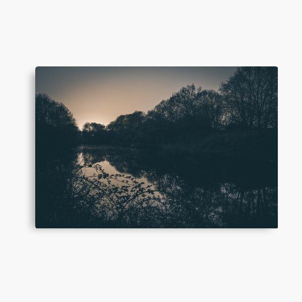 A quiet place (Bunnik / Utrecht) Canvas Print