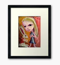 Alice Begins Framed Print