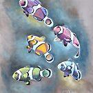 « Les petits clowns » par cindybarillet