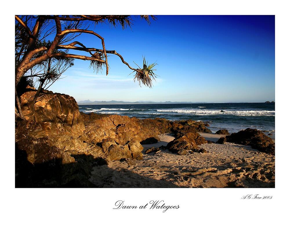 Dawn at Wategoes by fernfotos