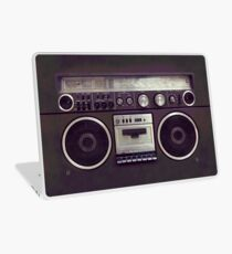 80s Retro Boombox Laptop Skin