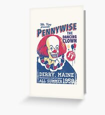 The Dancing Clown Greeting Card