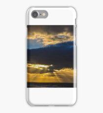 Sunset in Morayshire  iPhone Case/Skin