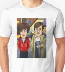 Roy Cropper and Hayley Cropper Coronation Street Unisex T-Shirt