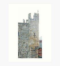 York's Micklegate Bar Art Print