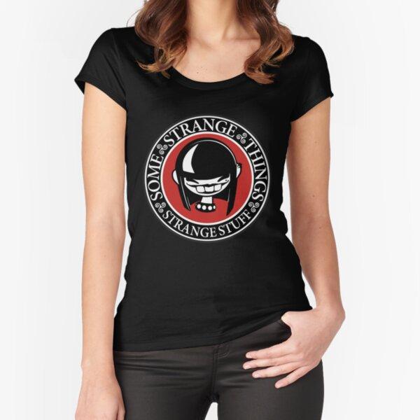 SomeStrangeThings Logo Fitted Scoop T-Shirt