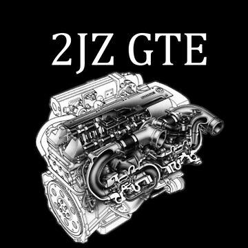 2JZ GTE Toyota Supra Engine by Danny1987