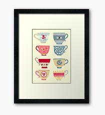 Tea Cups Framed Print