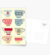 Tea Cups Postcards