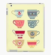 Tea Cups iPad Case/Skin
