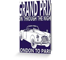 Quot Grand Prix London To Paris Quot Framed Prints By Impactees