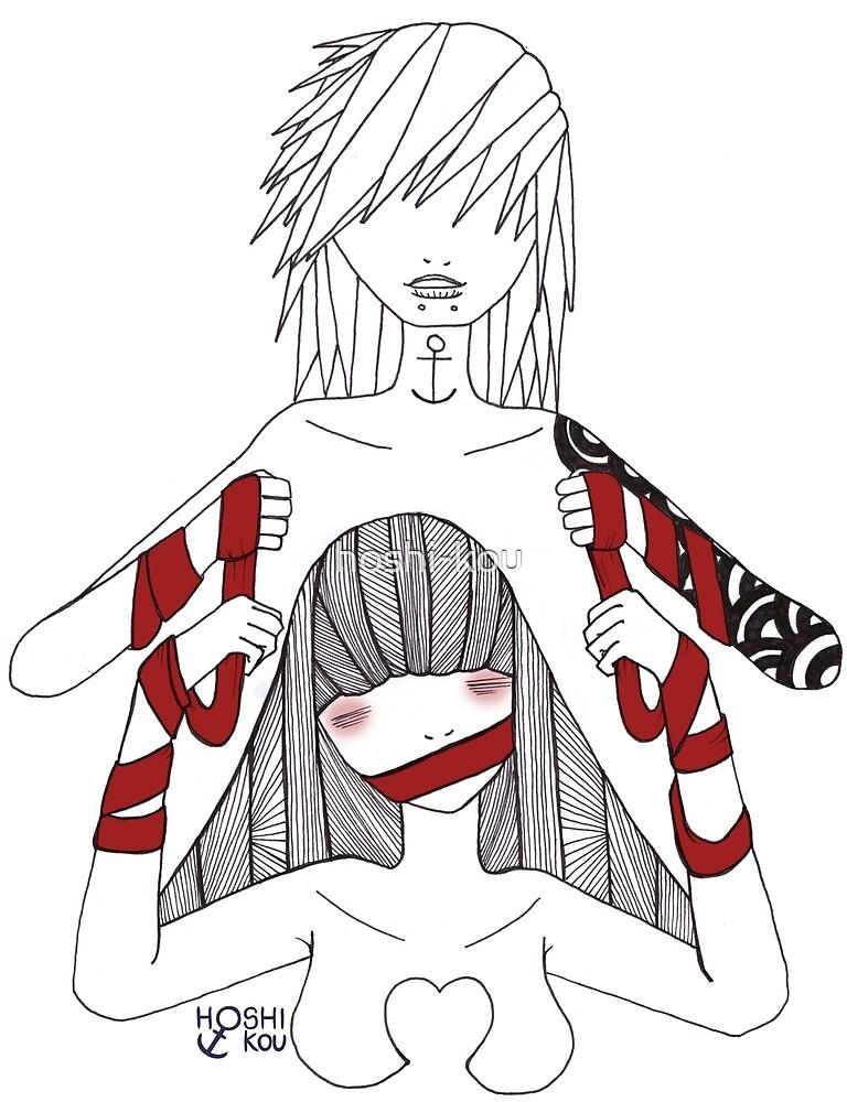 Red Tape #2 by hoshi-kou