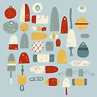 Fishing Floats by Nic Squirrell