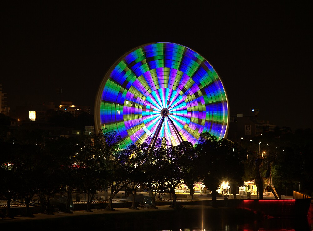 Ferris Wheel on the Yarra No:2 by robertb