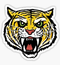 YELLOW TIGER (BACK) Sticker