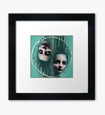 ONDINES in a bubble and graffiti Framed Print