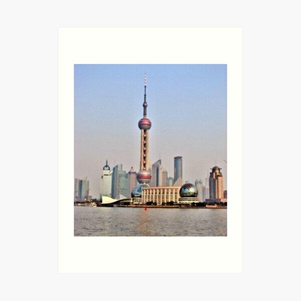 Shanghai View Art Print