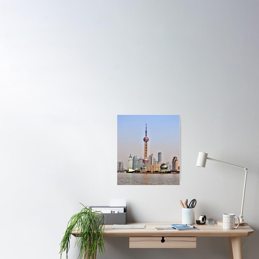 Shanghai View Poster