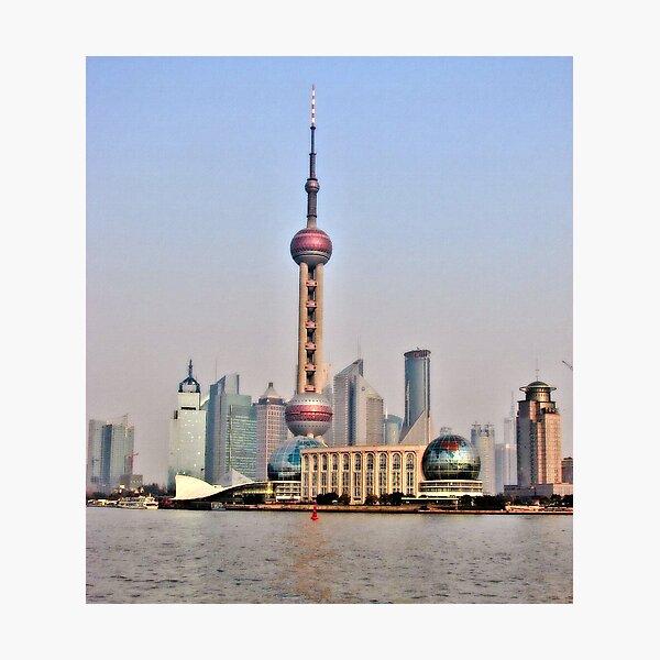 Shanghai View Photographic Print
