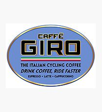 Caffe Giro Photographic Print