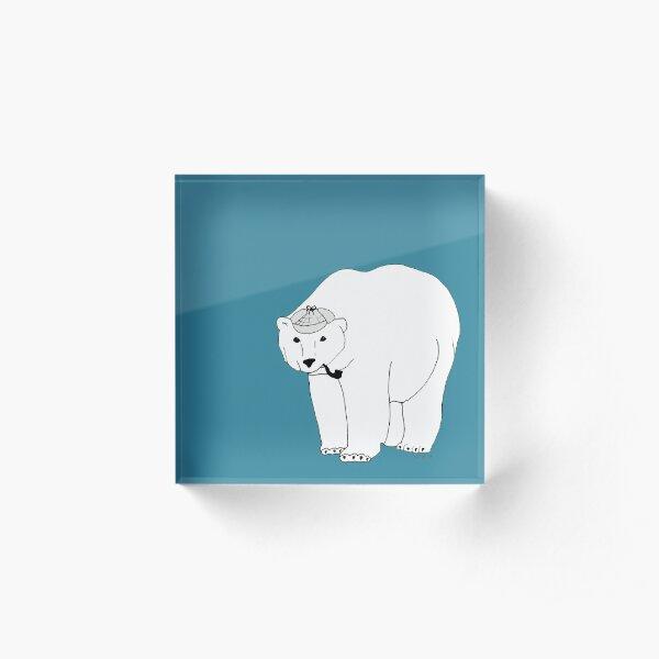 Bearlock Holmes Acrylic Block