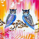 Owls by cathyjacobs