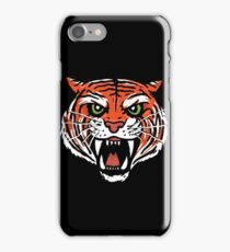 ORANGE TIGER (BACK) iPhone Case/Skin