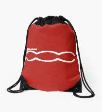 FIAT 500 (white) Drawstring Bag