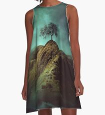 Lonely tree A-Line Dress
