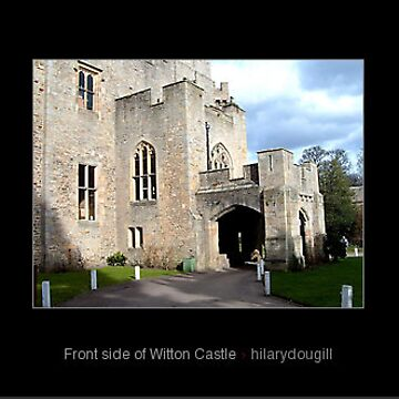 Front side of Witton Castle by hilarydougill