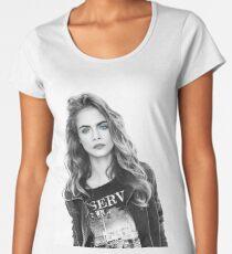 Mrs. Delevigne 3 Women's Premium T-Shirt