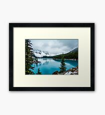 Forever Blue Framed Print