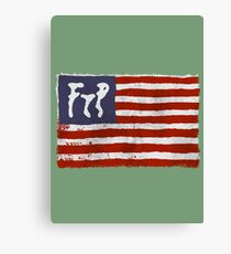 FTP flag Canvas Print