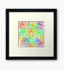 Colourful & Vibrant Design Framed Print